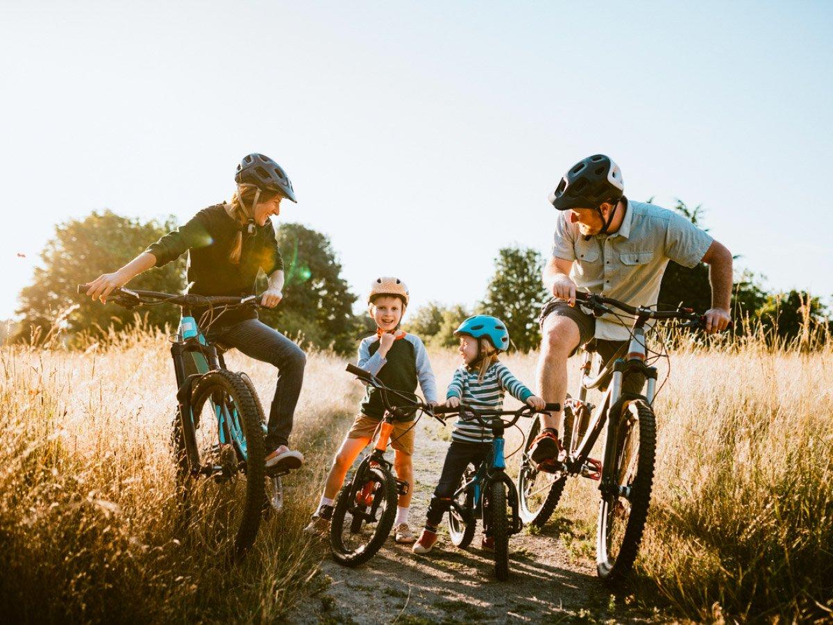 Akin provides fast access to bike trails around Kelowna
